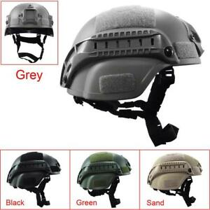 Tactical Helmet Cover Airsoft Helmet Paintball Fast Jumping Protective Accessory