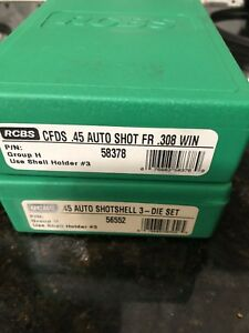 RCBS 45ACP Shotshell And Case Forming Die Set