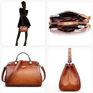 Genuine Leather Conceal Carry Designer Handbag for Women Clearance Style Bag