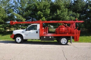 2003 Swab Master Machine Mounted On '03 F-550 4x4 Chassis Low Hours