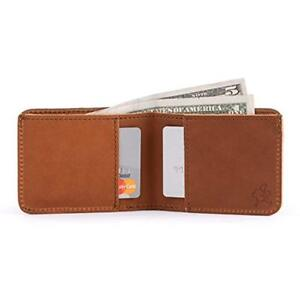 Saddleback Wallets Leather Small Bifold - RFID Shielded 100% Full Grain Simple