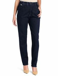 LEE Women's Relaxed-Fit Side Elastic Tapered-Leg Jean - Choose SZColor
