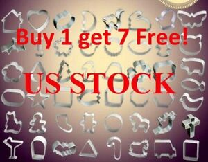 Many Styles Stainless Steel Cookie Cutter Set Biscuit Cookies Pastry Mold 1