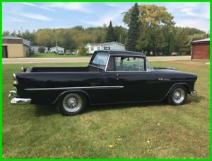 1955 Chevrolet El Camino  1955 elCamino  Automatic RWD Pickup Truck PW PS PD AC Oak Boards in Bed