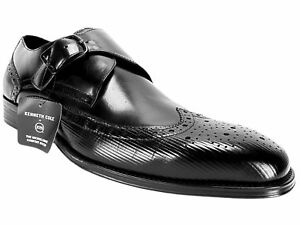Kenneth Cole New York Men's Design 10384 Dress Shoes Black Leather Size 10 M