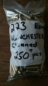 223 Winchester brass Cleaned For your Crafts Or Reloading