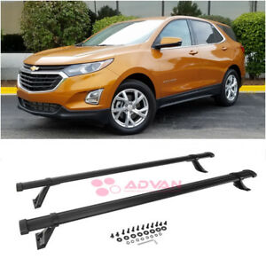 Factory Style Cross Bars Luggage Carrier Roof Rack Rail For 18-Up Chevy Equinox