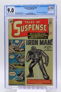 Tales of Suspense #39 CGC 9.0 - Origin and 1st Appearance of Iron Man Blue Label