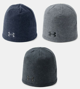 Under Armour Men's UA ColdGear Infrared Fleece Beanie Knit Stocking Cap Hat