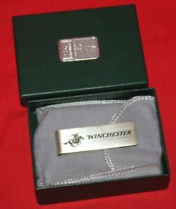 Winchester Solid Sterling Silver Money Clip