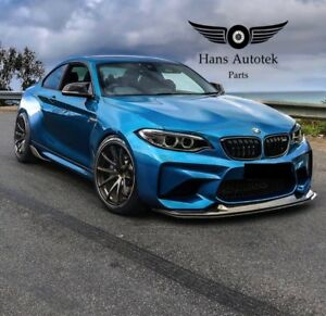 BMW M2 F87 CARBON FIBER FRONT LIP BUMPER MTC DESIGN STYLE  ( 2016-UP ) +HOT+