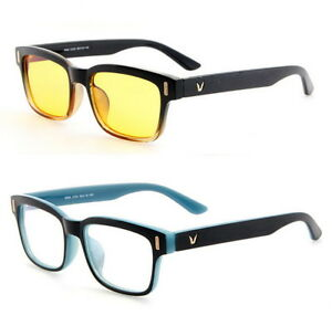 Gaming Glasses Computer Anti Fatigue Blue Light Blocking UV Protection Filter $9.24