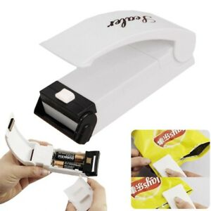 US Mini Heat Sealing Machine Portable Impulse Food Packing Plastic Bag Sealer