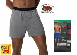 Fruit of the Loom Knit Boxers Dual Defense Wicking amp; Odor protection Value Packs
