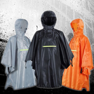 Raincoat Polyester Impermeable Outdoor Waterproof Durable Fishing Camping Cloak