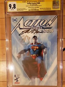 ACTION 1000 Dell'Otto - Bullet Proof Variant CGC 9.8 2x SS by Snyder