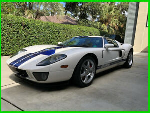 2005 Ford Ford GT  2005 Ford GT 5.4L V8 Gas Engine 6-Speed Manual RWD Coupe Premium Radio Leather
