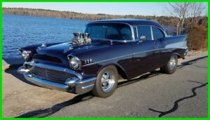 1957 Chevrolet Bel Air150210 Hard TopSport - Body Off Restoration 1957 Chevrolet Bel Air Hard TopSport454ci621HP3-Spd 700R4 TransLeather