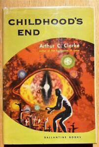Childhood's End by Arthur C. Clarke - FVG 1st edition - Richard Powers cover