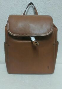 NWT $398 Frye Women's Olivia Brown Leather Backpack