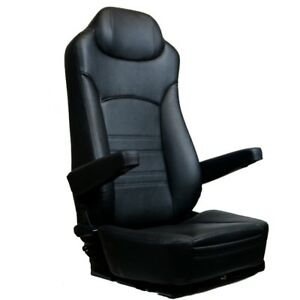 REPLACEMENT SEAT FOR KENWORTH PETERBILT FREIGHTLINER VOLVO All In Black