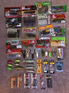 NEW Bass Fishing Lures Lot (Lucky Craft BioSpawn Jerkbaits Topwater