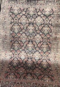 AN ATTRACTIVE CHINESE SILK RUG $675.00