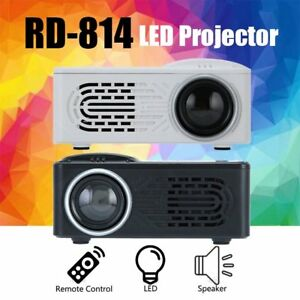 RD 814  Mini 1080P Home Theater Projectors Multimedia Video Projector Android EK