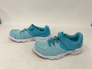 Girls Under Armour (1272295-293) Pace Aqua Shoes 418c