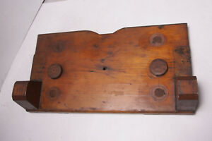 Lamson Industrial Foundry Wood ~10x18 14