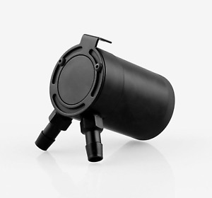 Universal Compact Baffled 2-Port Oil Catch Can Tank Air-Oil Separator Mishi USA