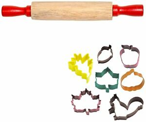 FlavorTools Kids Vibrant Colorful Autumn Leaf Cutter Gift Set (7-Piece)