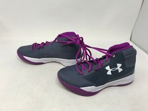 Girl Under Armour (1296011-962) Jet Basketball Shoes Size 5   (7N)