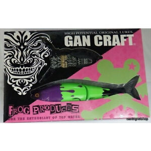 GAN CRAFT×FROG JOINTED CLAW 178 15SS GUN-DEENI JAPAN 2014 LIMITED Bass Lure NEW