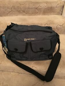 Timber Creek Green Tackle Bag For Fishing Hunting Camping Heavy Canvas NEW