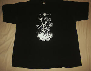 Sasquatch quot;Pull Me Underquot; XL 2012 t shirt Soundgarden COC Black Sabbath $14.99