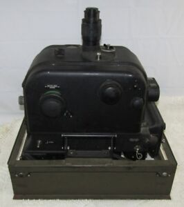 US WW2 Army Air Force Sperry S-1 Bombsight W Metal Base Not Modified to M-2!!!