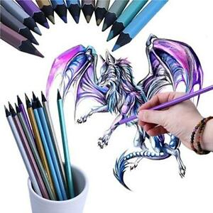 Artists Colouring Pencils Professional Quality Metallic Colour Therapy OO