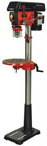 Drill Press 13 in. 5 Amp Adjustable Worktable Variable Speed LED Lighted