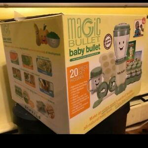 Magic bullet baby bullet baby care system 20 Pc Set
