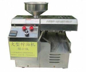 Special Press Machine for Peanut, Sesame Seed, Safflower Seed, Stainless Steel
