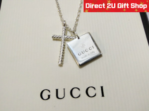 Genuine Gucci Sterling Silver 18.75