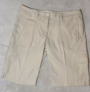 Nike Women's Dry Fit Golf Shorts - Beige NWT Size 12