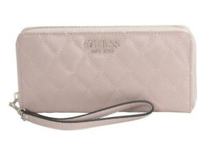 Guess Women's Sweet Candy Large Quilted Zip-Around Clutch Wallet