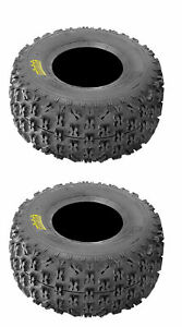 Set of 2 Rear holeshot ATR 25x10-12 Tires for Can-Am Outlander 400 4x4 2009