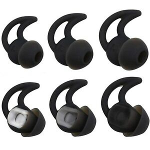 Bose Replacement Noise Isolation Silicone EarbudsEarplug Tips 3 Pairs Size S...