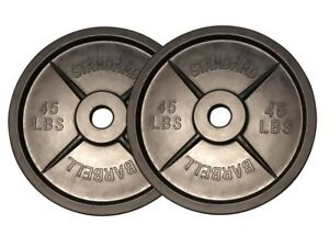 Fake 45 lb Plastic Barbell Weights