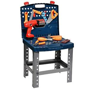 Kids Toy Workbench for Toddlers Kids Power Workbench Construction Tool