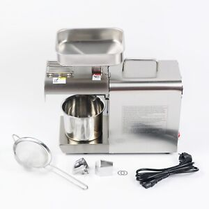 PAS Auto Small Oil Press Machine Peanut Olive Nut Seeds Oil Expeller Extractor