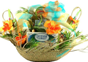Gift Basket Village - 5 O'clock Somewhere Tropical Gift Basket - With